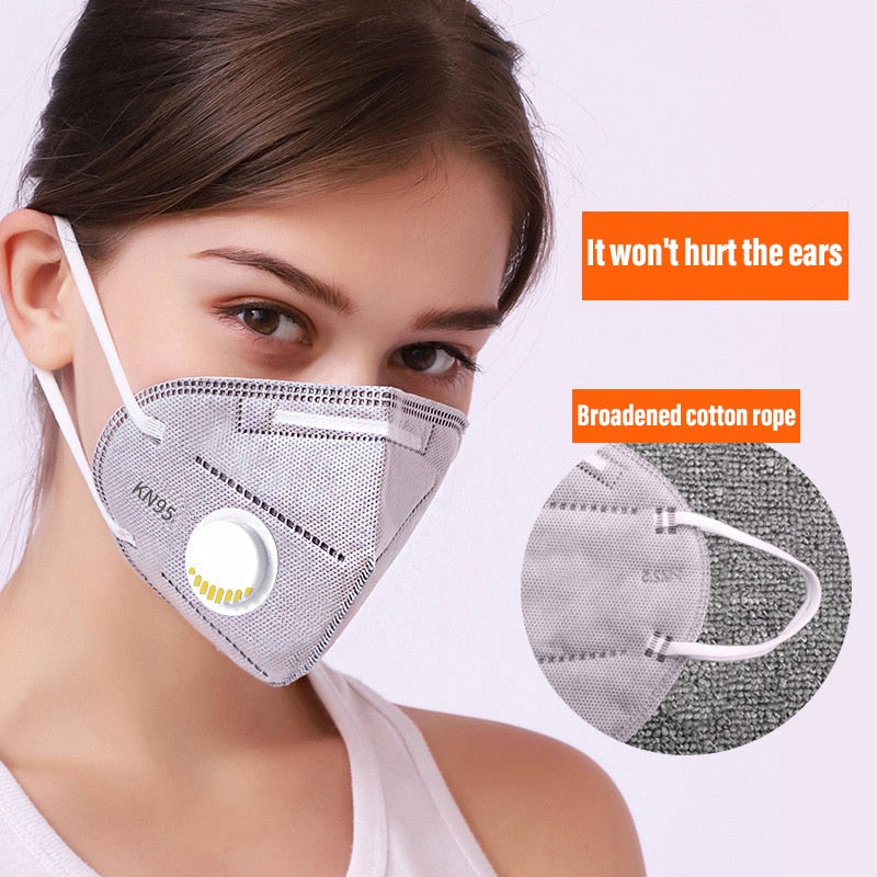 N95 Activated Carbon Face Mask Respirator