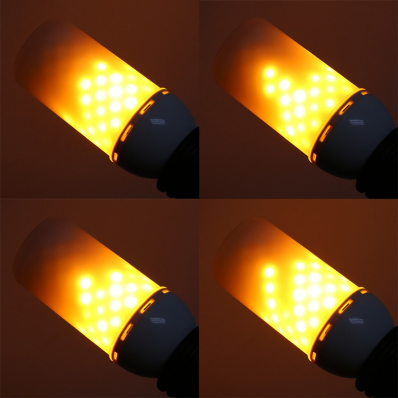 Creative 3 Modes+Gravity Sensor Flame Lights