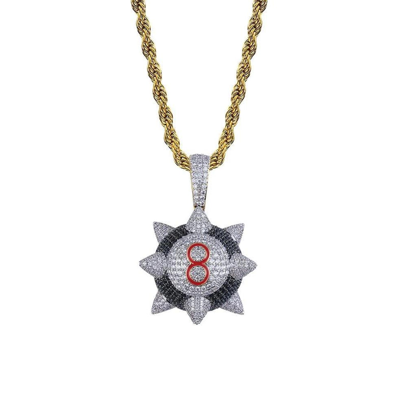 Iced Out Pendant Necklace