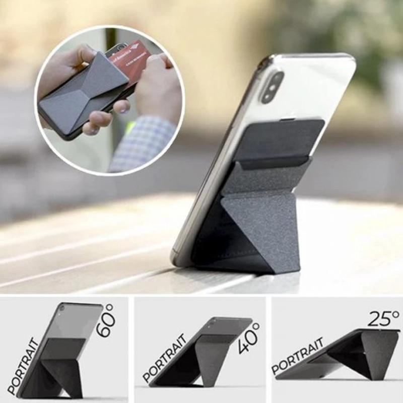 Invisible Foldaway Phone Stand Wallet