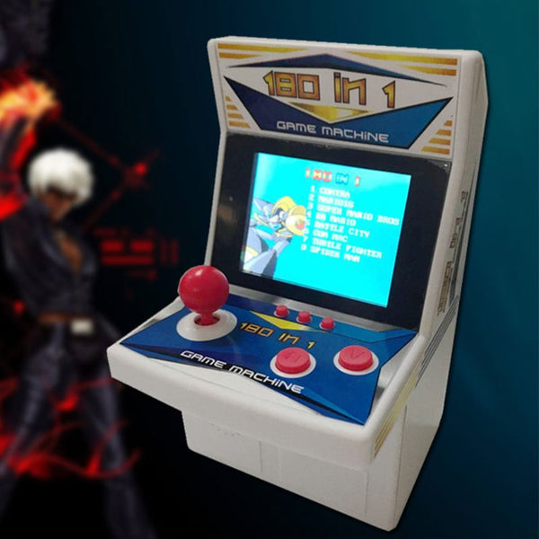 180 In 1 Rertro Mini Arcade Game Console