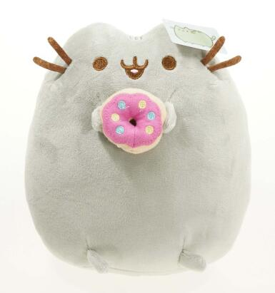 Cookie Potato chips Doughnut Stuffed & Plush Animals Cute Pussy Christmas Gift Toys for Girls