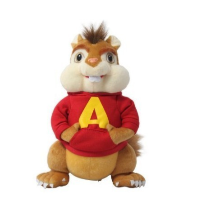 25CM Movie Toys Alvin And The Chipmunks Plush Dolls