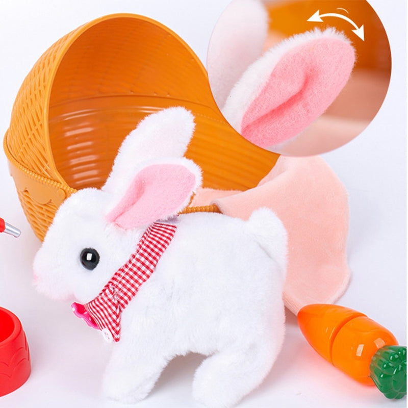 Plush Singing Jump Jump Rabbit Simulation Soft Toys