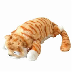 Funny Laughing Cat Roll Pet Toys Simulation