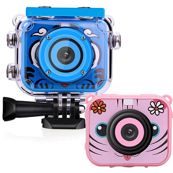 "Kids Cam 2.0"" LCD HD Digital Camera-Waterproof"