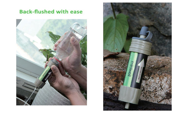 Portable Water Filter for Emergency Survival
