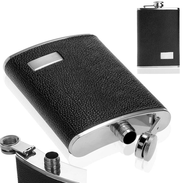Hip Flask Black water bottle