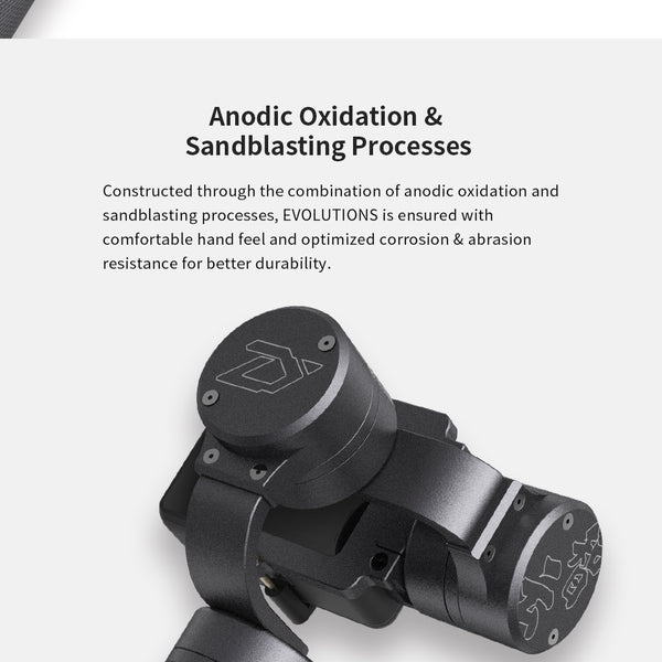 3-Axis Sports Handheld Gimbal Stabilizer