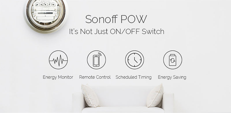 Smart Switch With Power Consumption Measurement