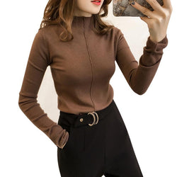 Sleeves Basic Sweater