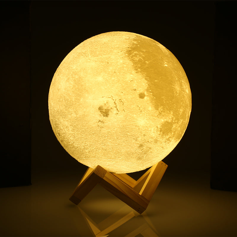3D Print Moon Night Light