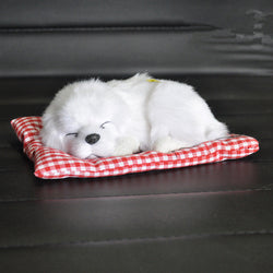 Lovely Baby Animal Doll Plush Sleeping Dogs Stuffed Toys