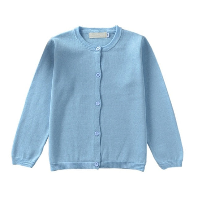 Knitted Cardigan Sweater For Kids