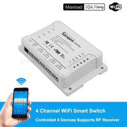 Sonoff 4CH Pro R2 ,4 Channel Wifi Smart Switch