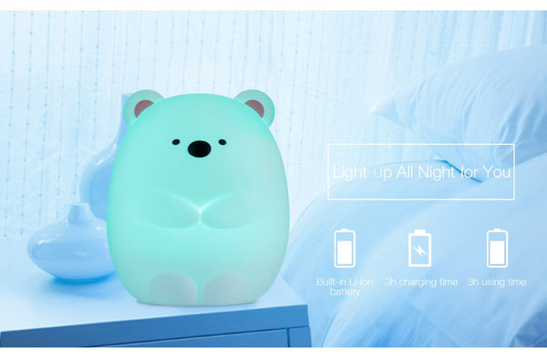 Squishy Bear Night Light!