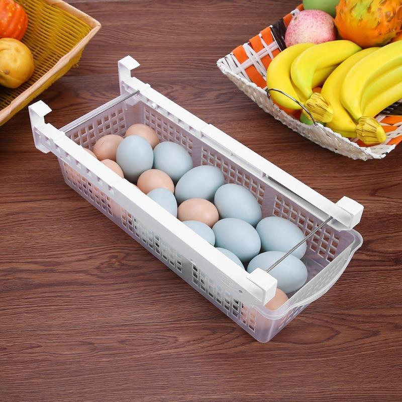 Fridge Pull Out Organizer Bin