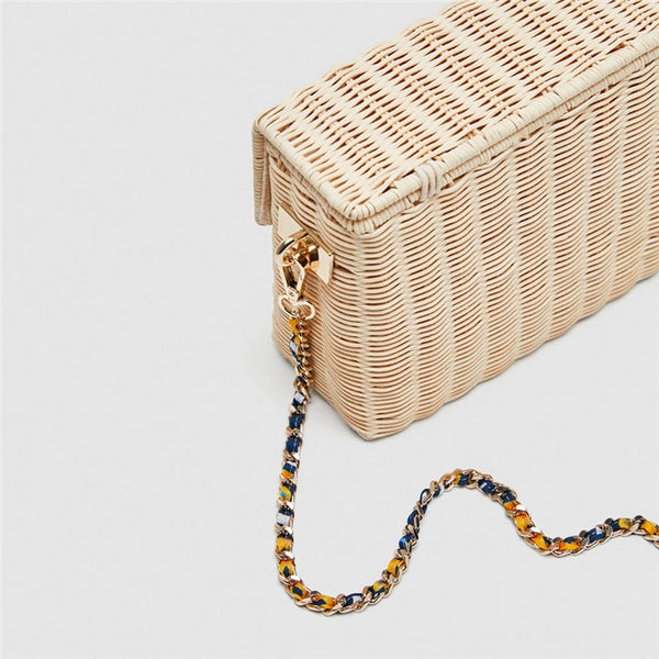 2019 Fashion Rattan Straw Women Bags