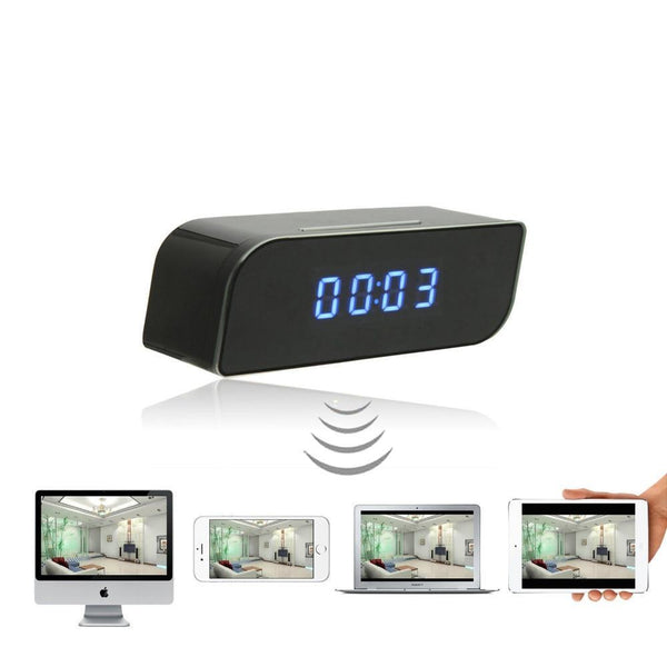 Micro Wifi IP Camera & Clock-1080p