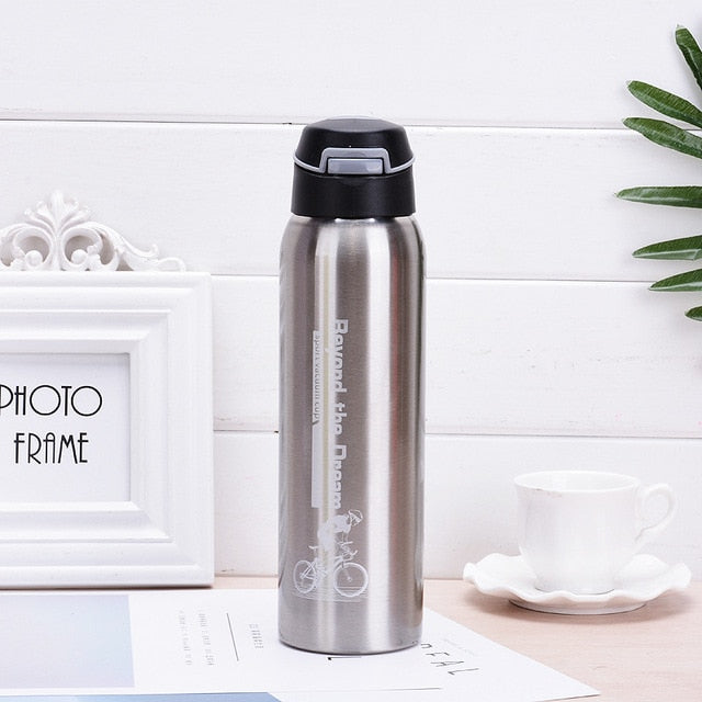 500ML Sport thermos water bottle