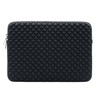 Diamond Pattern Laptop Bag
