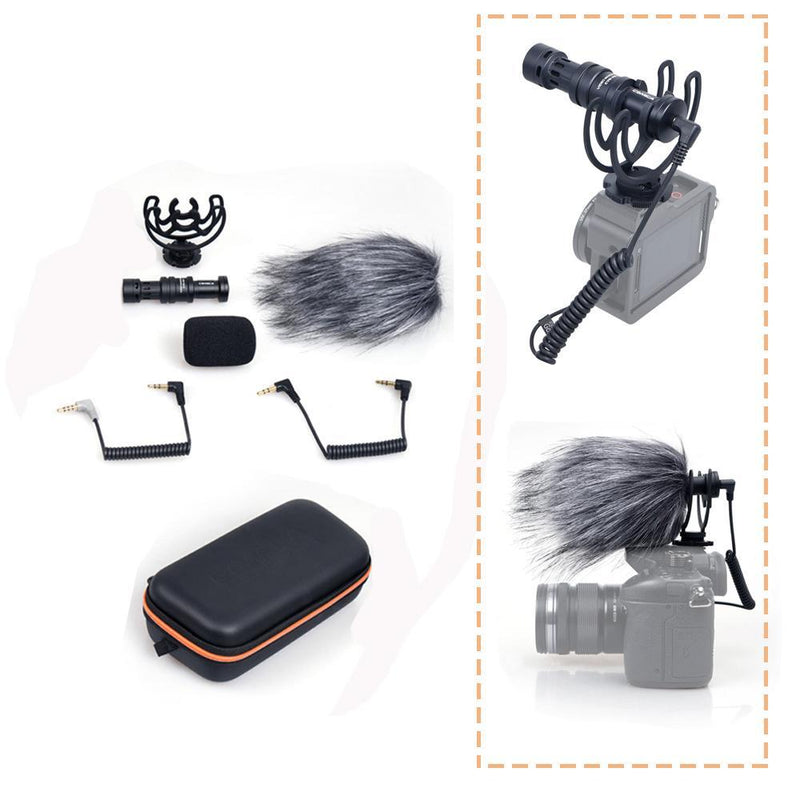 Microphone with Shock-Mount for Smartphone
