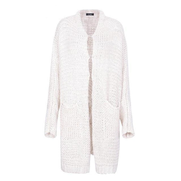 Casual Knitted Long Cardigan Sweater