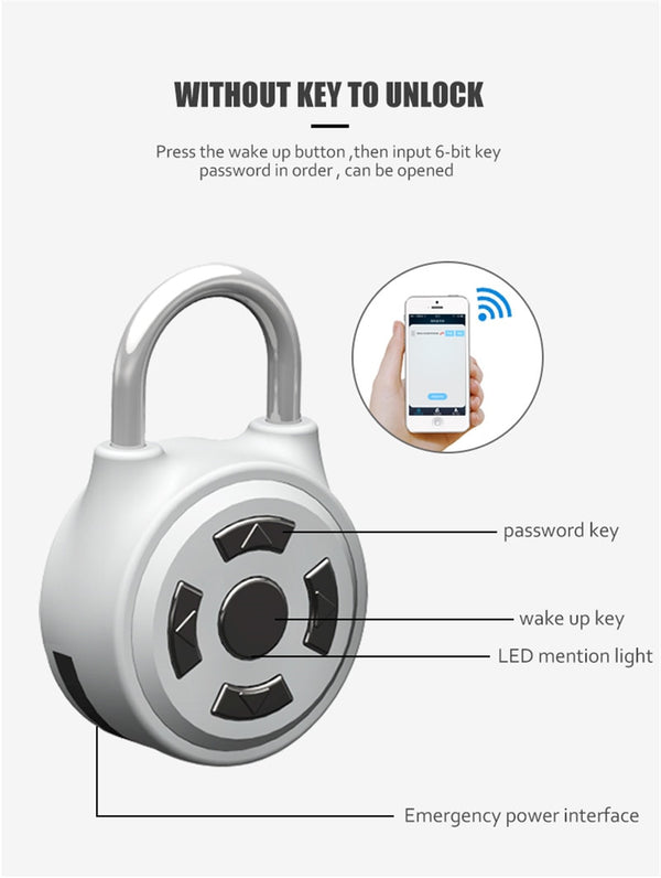 smart security Cabinet luggage lock