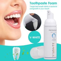 Tooth Whitening Foam Oral Hygiene Toothpaste