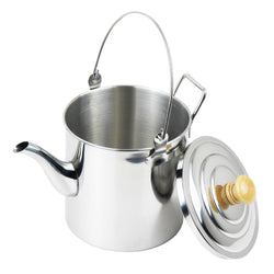 Camping Stainless Steel Tea Coffee Kettle