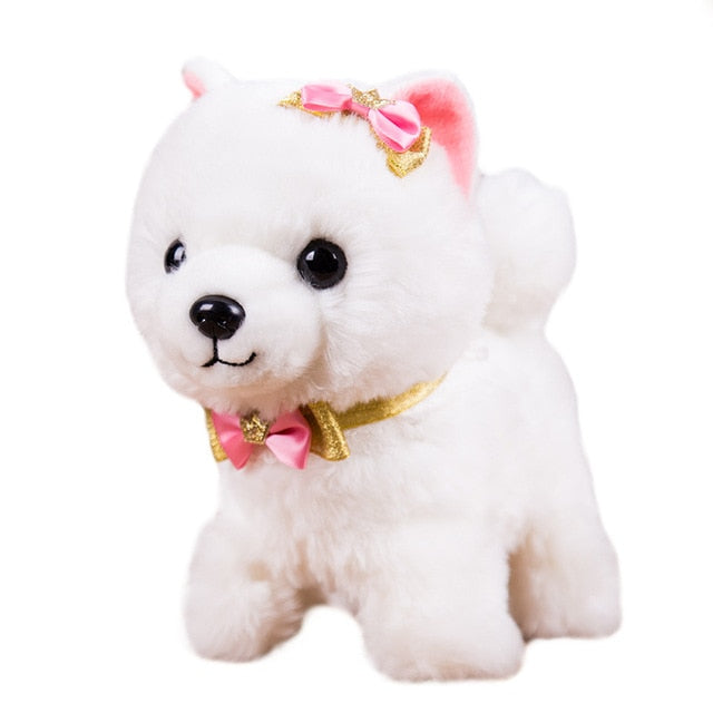 Electronic Plush Animal Pet Toy Walk Bark Leash Teddy Toys For Children