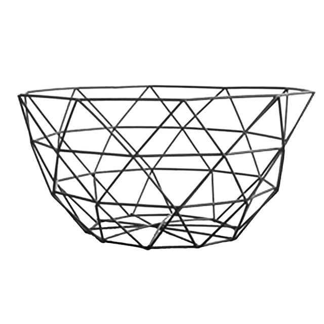Metal Fruit Vegetable Storage Bowl