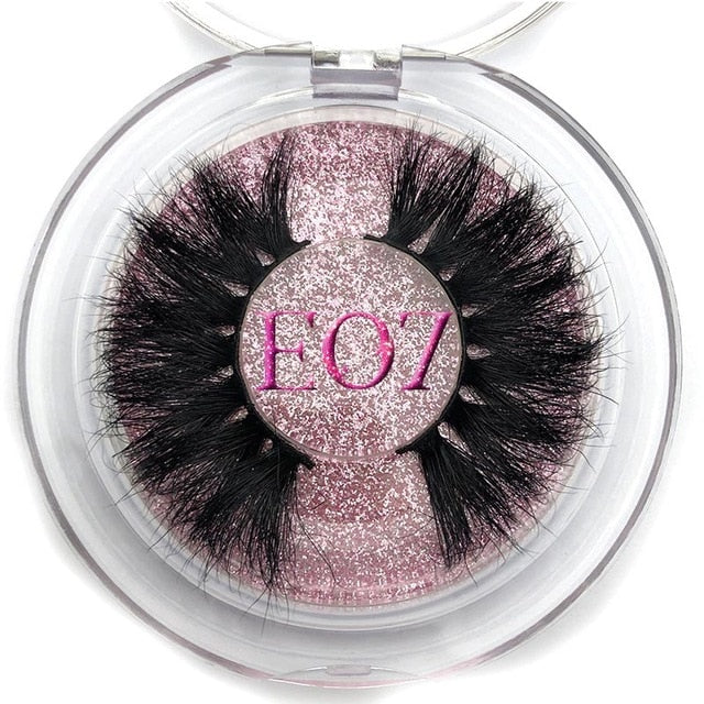 25mm Long 3D mink eye lashes