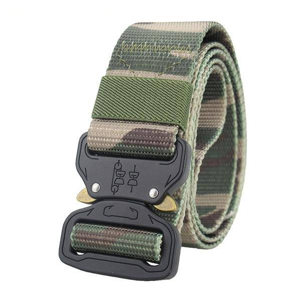 Military Equipment Combat Tactical Belts for Men