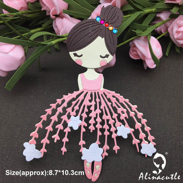 Dancing Ballet Girl Doll Alinacraft