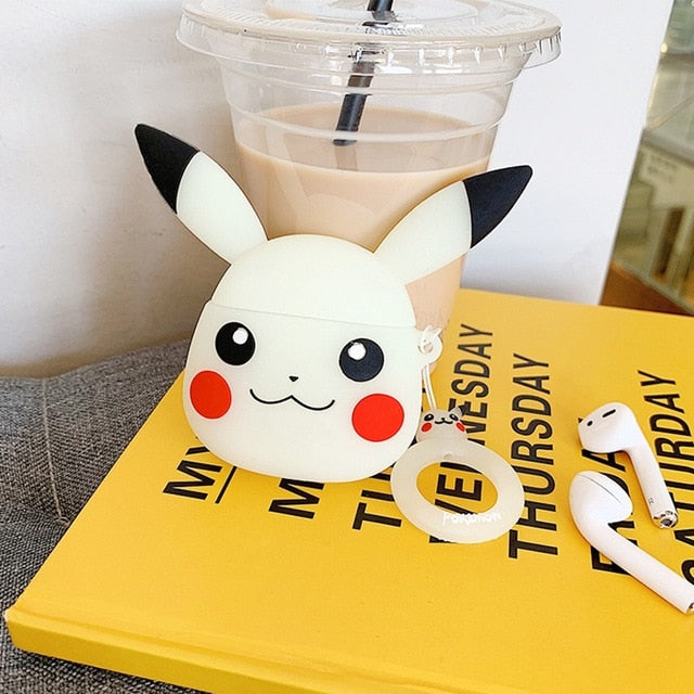For AirPods Case Cute Cartoon Silicone Cover