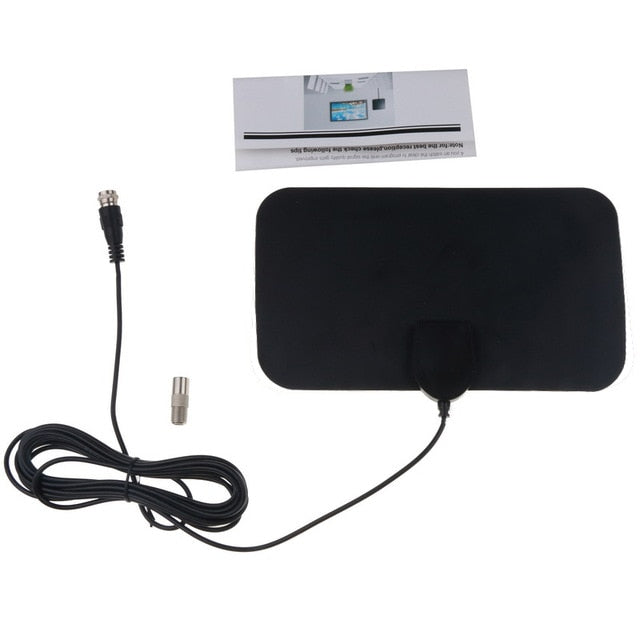HD Digital TV Antenna 4K Ultra Flat Box