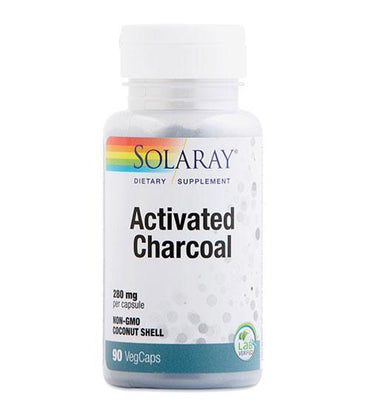 Activated Charcoal Solaray 90 kapsula