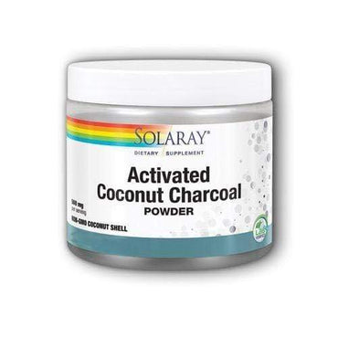 Activated Coconut Charcoal Aktivni ugljen Solaray 75g - Alternativa Webshop