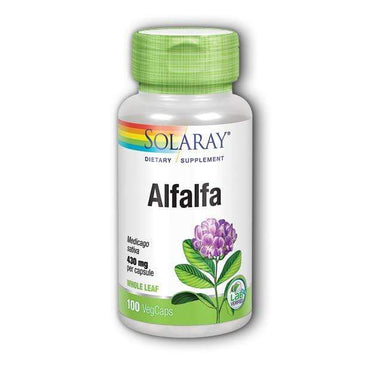 Alfalfa Solaray 100 kapsula - Alternativa Webshop