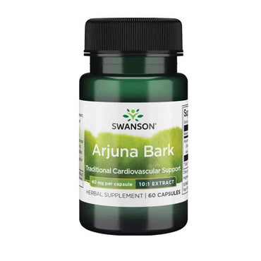 Arjuna Bark 40mg Swanson 60kapsula - Alternativa Webshop
