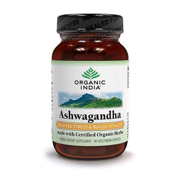 Ashwagandha Organic India 90 kapsula - Alternativa Webshop