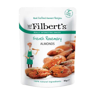 Bademi s ružmarinom Mr. Filbert's 40g - Alternativa Webshop