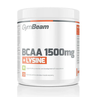 BCAA 1500 mg + Lysine GymBeam 300 tableta - Alternativa Webshop