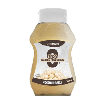 Beskalorijski sirup Coconut Balls GymBeam 350 ml - Alternativa Webshop