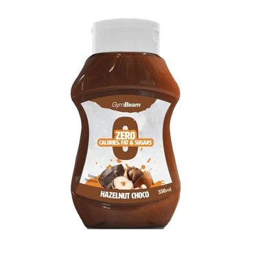 Beskalorijski sirup Hazelnut Choco GymBeam 350 ml - Alternativa Webshop