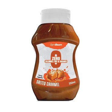 Beskalorijski sirup Salted Caramel GymBeam 350 ml - Alternativa Webshop
