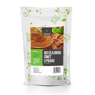 Bio Cejlonski cimet u prahu Green Planet Superfoods 100g - Alternativa Webshop