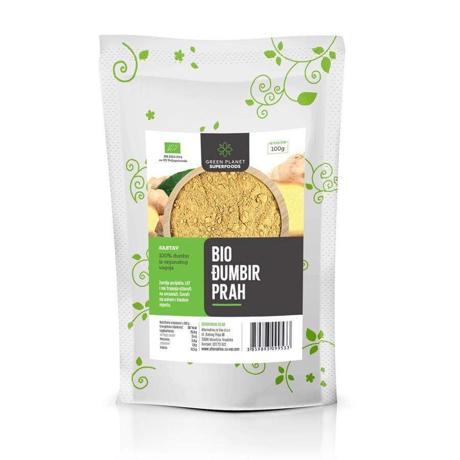 Bio đumbir prah Green Planet Superfoods 100g - Alternativa Webshop