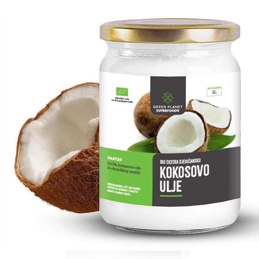 BIO ekstra djevičansko kokosovo ulje Green Planet Superfoods 1L - Alternativa Webshop